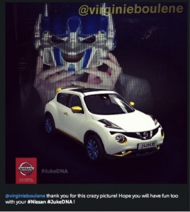 Users feel a part of the Juke social marketing campaign