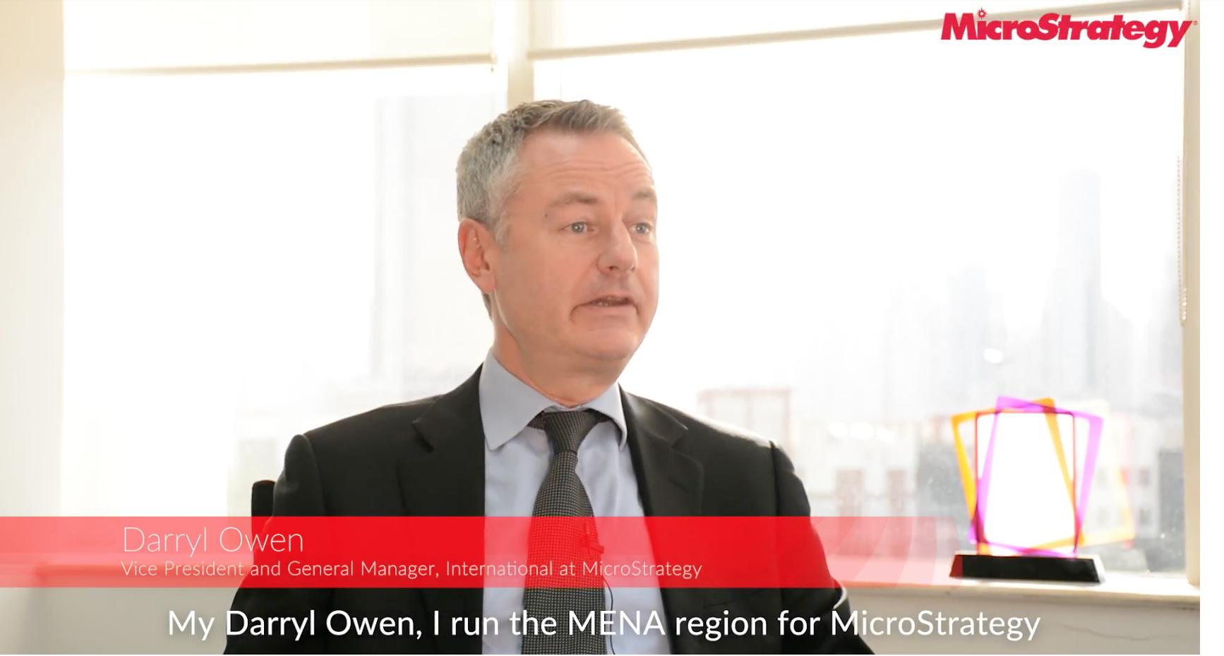 Darryl Owen video production microstrategy