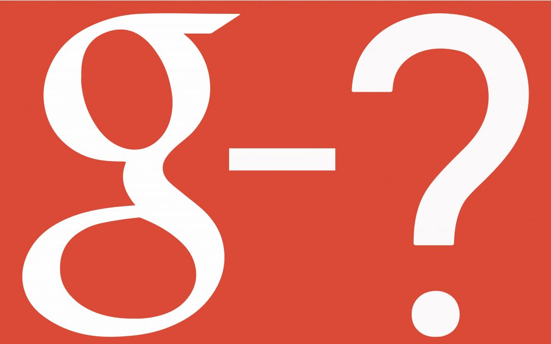 Blog: okay so Google+ will be no more, but is it really a negative with Google Posts around?