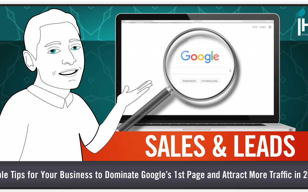 Blog: simple tips to grab more control of Google's first page & drive more sales